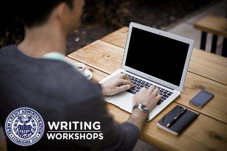 FCA Writing Workshops